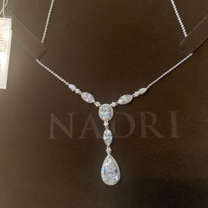 Nadri Bridal CZ Necklace- NEW with Tags
